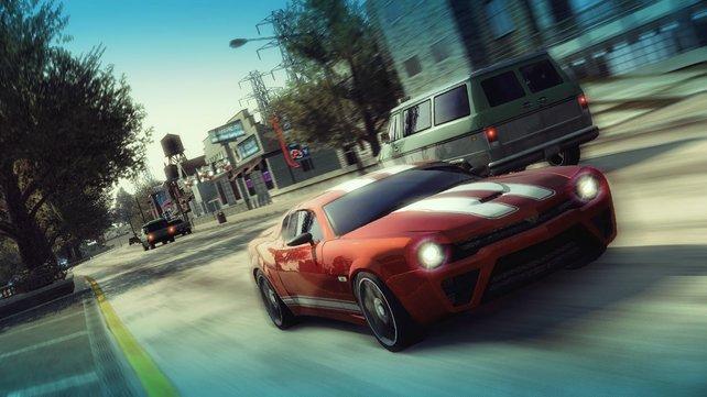 70 verschiedene Fantasie-Autos wollen beherrscht und ausgefahren werden.