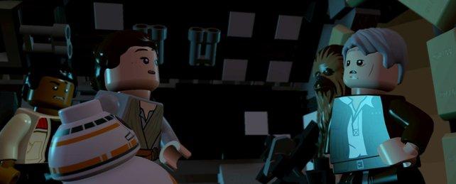 Traveller's Tales transportiert die Geschichte und Atmosphäre von Episode 7 großartig auf den Bildschirm.