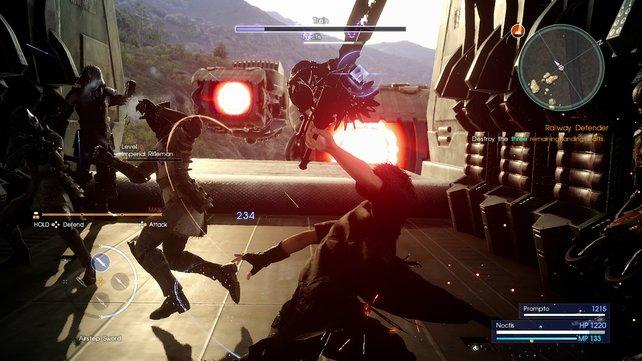 Das Spiel bietet ein paar ziemlich wilde Actionszenen.