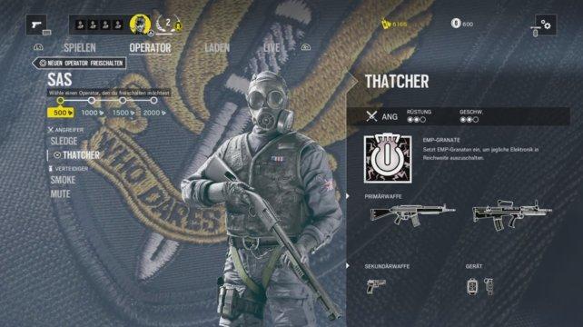 Operator Thatcher