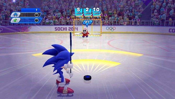 Mario & Sonic bei den Olympischen Winterspielen - Sotschi 2014 läuft zwar auf der Wii U, doch ihr braucht alle Wii-Controller-Accessoirs, die ihr euch denken könnt. Und so toll sind die Minispiele dann auch nicht.