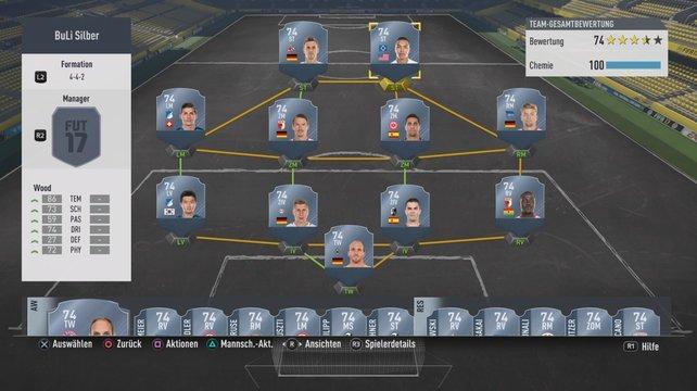 Diese Silber-Spieler formen das bestmögliche Team der Bundesliga.