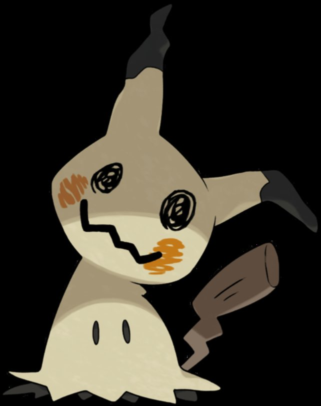 Mimigma versteckt sich immer unter einem Pikachu-Kostüm.