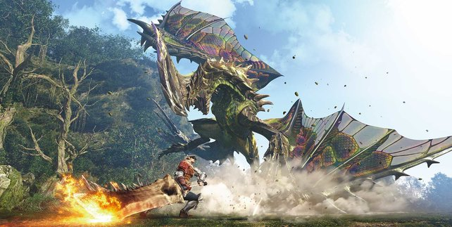 Monster Hunter World auf der E3 angekündigt