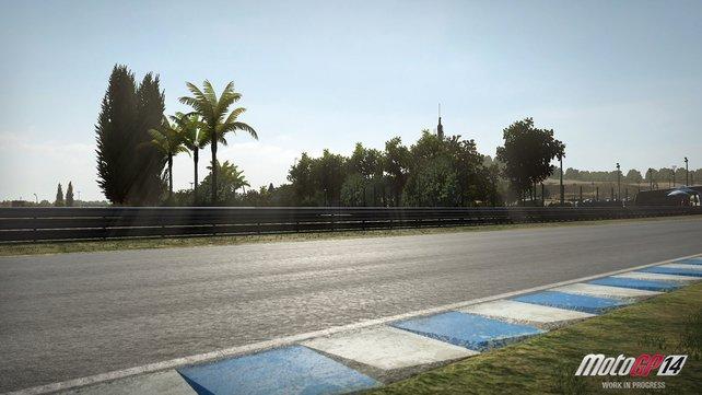 Solange die Sonne scheint, wie auf der spanischen Rennstrecke Jerez, ist alles in Ordnung.