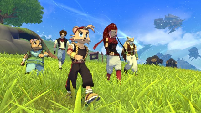 Fünf Helden, eine Mission: das Königreich Mahera vereinen, koste es was es wolle.