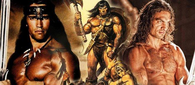 """Die Figur Conan tritt in Büchern, Comics, Filmen und Spielen auf. Ikonisch bleibt die Darstellung des Kriegers im Kinofilm """"Conan - Der Barbar"""" von 1982. Jedoch bietet das Conan-Universum mehr als nur den muskelbepackten Arnold Schwarzenegger."""