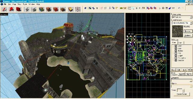 Unzählige Karten für Counter-Strike wurden mit dem Hammer-Editor erstellt.