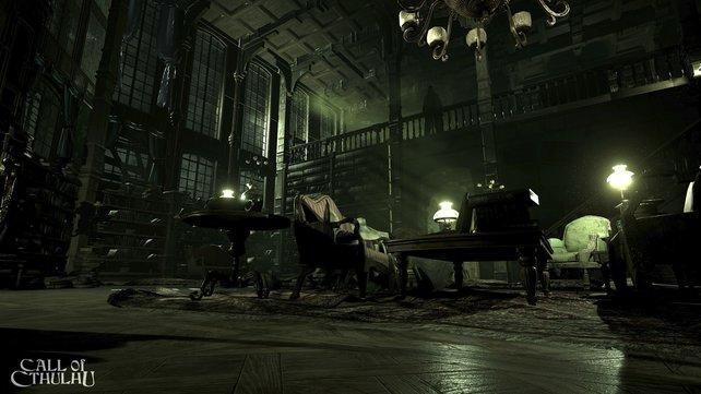 Kleines Ratespiel: Wer findet den Schatten der menschlich anmutenden Nachtgestalt?