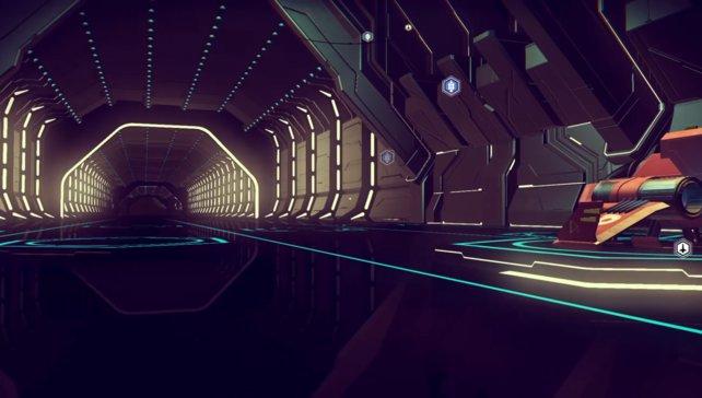 Eine Raumstation!