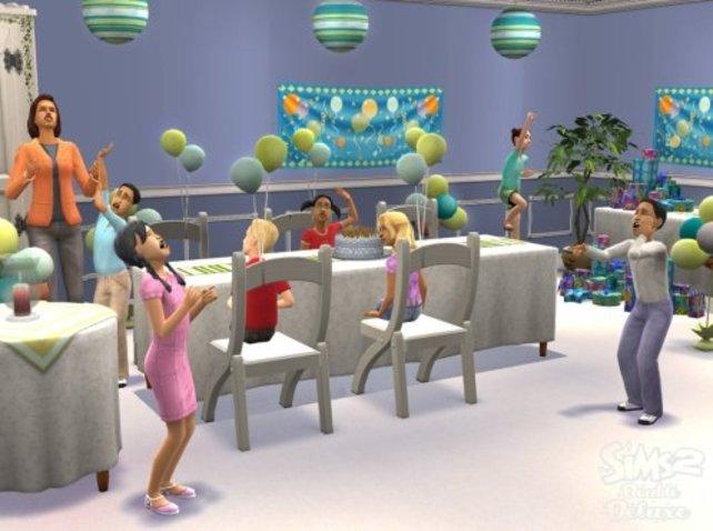 Mit unseren Cheats zu Sims 2 könnt ihr eine riesige Party mit allen Nachbarn feiern.
