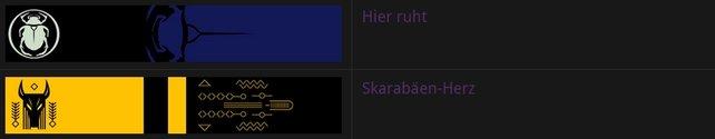Diese zwei legendären Embleme könnt ihr freischalten.