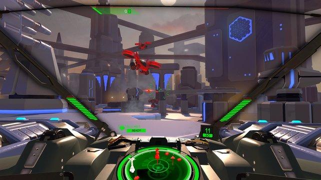 Marginal, aber dennoch sichtbar: Auf der PS4 Pro erhaltet ihr in Battlezone ein schärferes Bild und dynamische Beleuchtung.