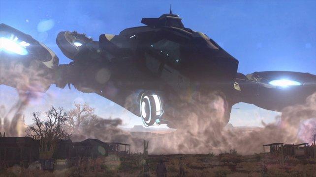 Die Avenger ist eure fliegende Einsatzzentrale