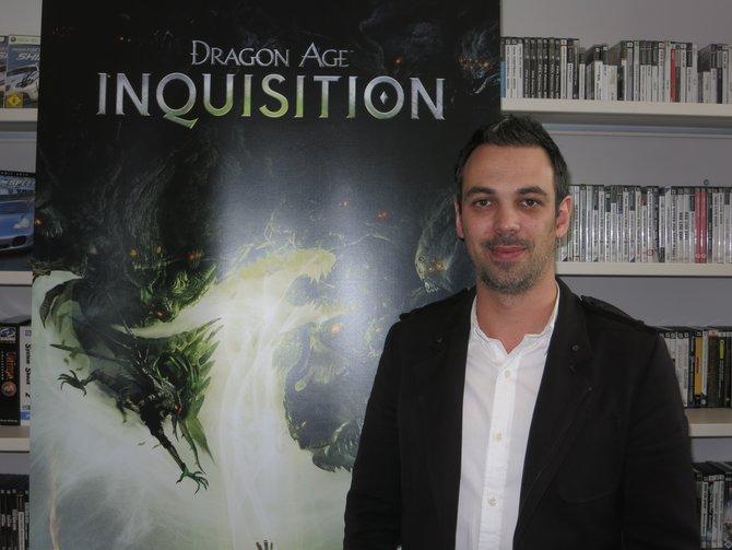 Cameron Lee ist Produzent von Dragon Age - Inquisition und mitverantwortlich für das Spiel.