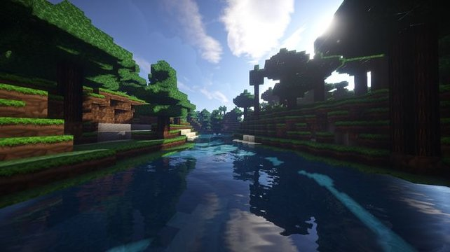 "Die Shader-Mod ""Sonic Ethers Unbelievable Shaders"" belegt Platz 1."