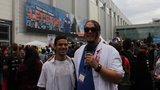 Zombie-Foto mit Onkel Jo auf der Gamescom 2014