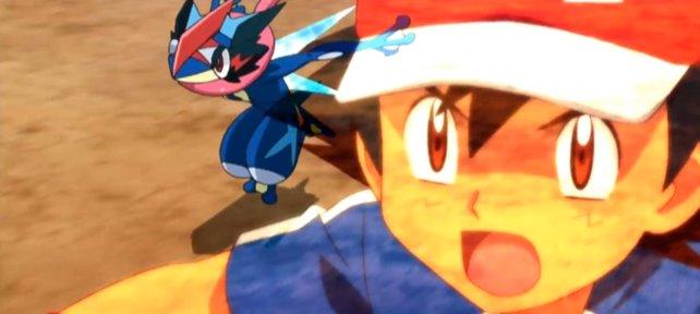 Ash und Quajutsu sind ein super Team!