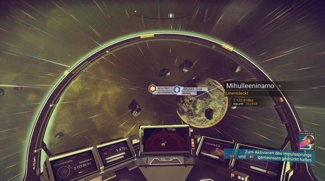 Asteroiden tauchen überall auf, vermehrt allerdings in der Atmosphäre des Planeten.