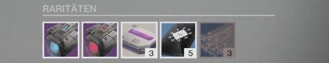 Das sind die Raritäten, die Xur diese Woche in seinem Inventar für euch bereithält.