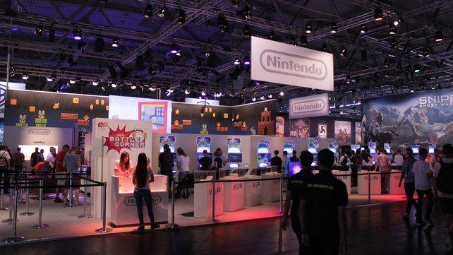 Wenig Neues, aber dafür ein sympathischer Auftritt: Nintendo.