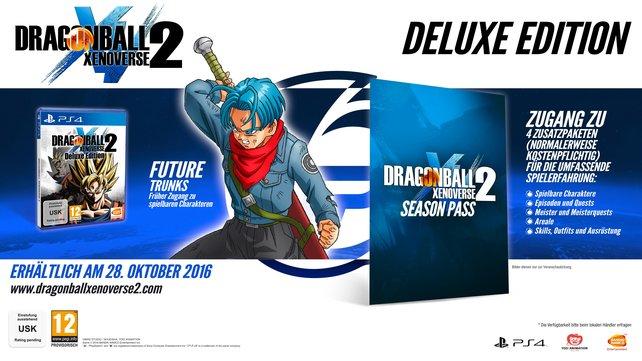 Die Deluxe Edition enthält gleich den Season Pass zu Xenoverse 2.