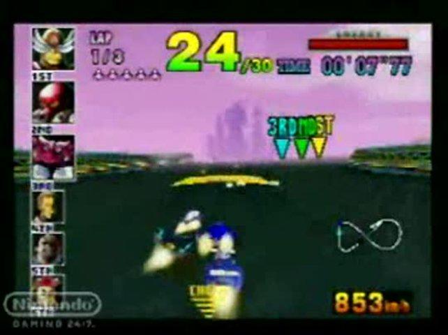 F-Zero X von 1998 ist der direkte und sehr ähnliche Nachfolger von seinem SNES-Gegenstück. Viele Reihen setzte das N64 fort, aber nur wenige begründete es.