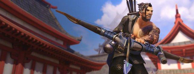 Hat Hanzo einen Vorteil in Overwatch, weil er Pfeile abschießt?