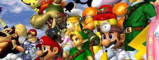 Super Smash Bros. - Melee: E-Sports-Turnier mit Röhrenfernsehern ausgetragen