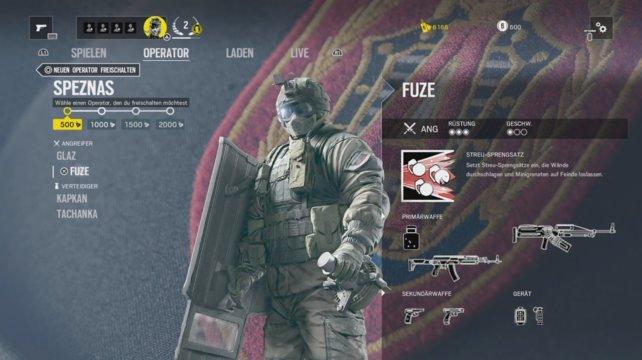 Operator Fuze