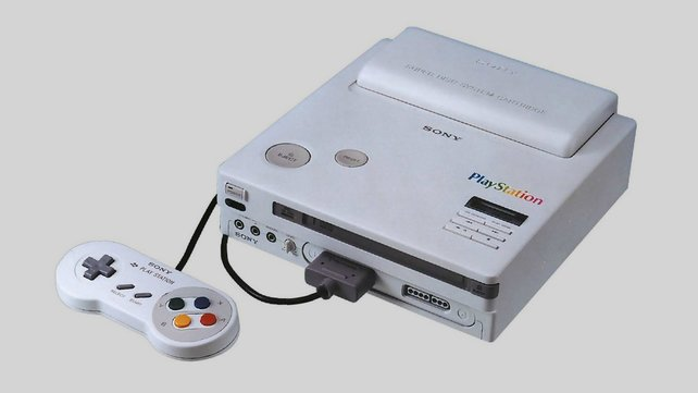 Sony baut 1991 ein Super Nintendo mit CD-Laufwerk. Codename: Playstation.