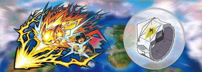 Mit dem Z-Ring könnt ihr Z-Attacken ausführen.