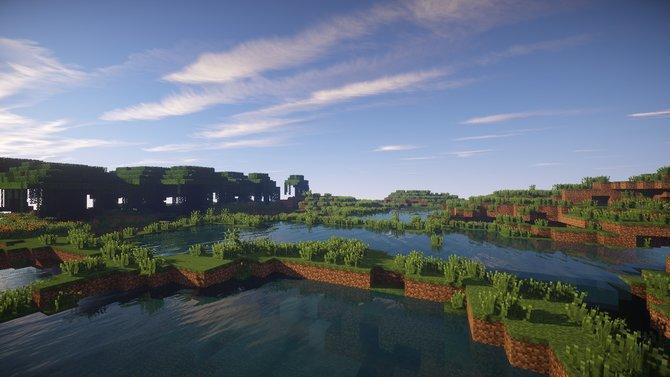 Ist das noch Minecraft? Mit SEUS Minecraft und fortschrittlicher Shader-Technik gebt ihr dem Pixel-Spiel einen neuen Anstrich.