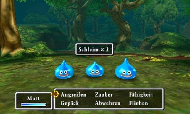 Der blaue Schleim gehört einfach zu Dragon Quest.