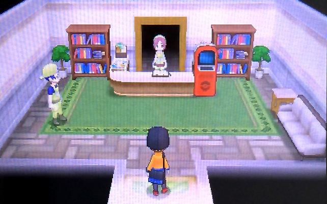Die Pension: Gebt hier zwei Pokémon ab und seht, was passiert.
