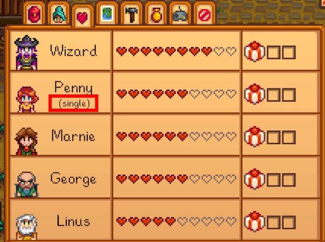 Penny ist noch Single. Glück für uns, so können wir es mit ihr versuchen.