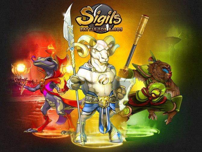 Mit Sigils - Schlacht um Raios geht ein unterhaltsamer Hybrid aus MOBA und Rollenspiel an den Start.