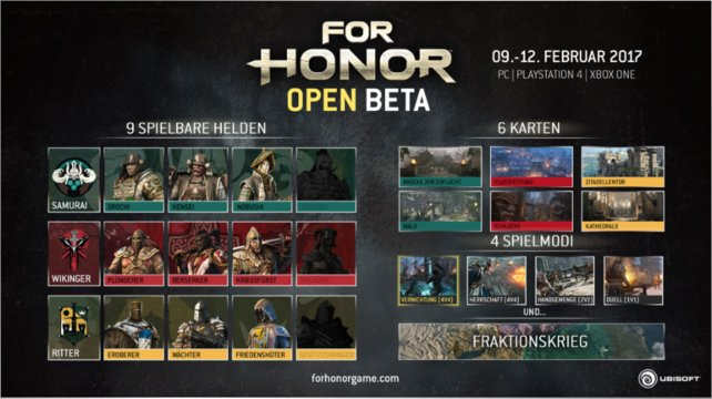 Alle Inhalte der Open-Beta