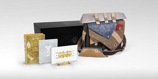 Die Tasche der Collector's Edition glänzt mit außergewöhnlichem Design - ist das was für euch?