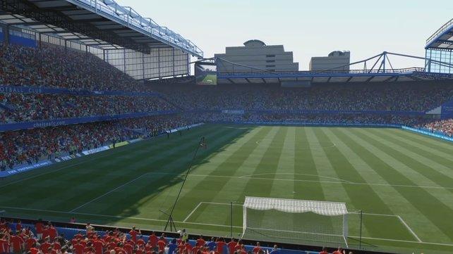 Stamford Bridge: Dieses Stadion ist die Heimat von Chelsea in der Premier League.