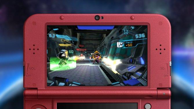 Metroid Prime - Federation Force: Gemeinsam mit bis zu drei Freunden erledigt ihr Missionen.