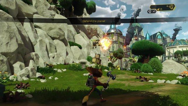 Die Serie erwacht dank schicker PS4-Optik zu neuem Leben.