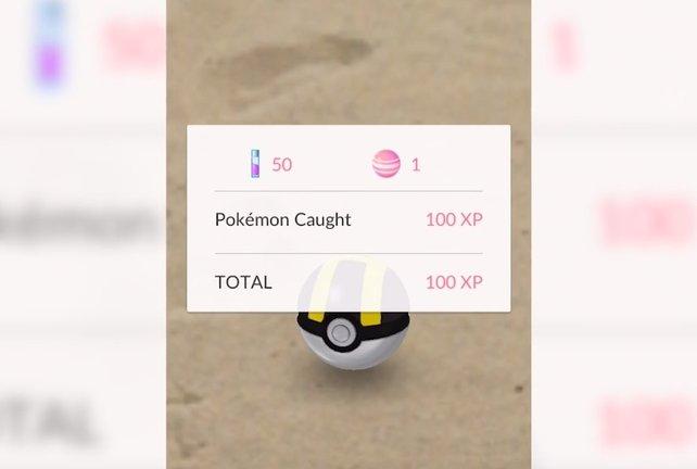 Kämpfen war gestern, mit Wischen fangt ihr Pokémon.