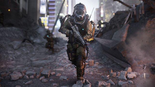 Futuristische Kriegstechnik steht in Call of Duty - Advanced Warfare im Mittelpunkt.