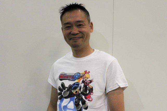 Keiji Inafune freut sich, Mighty No. 9 fertigzustellen.