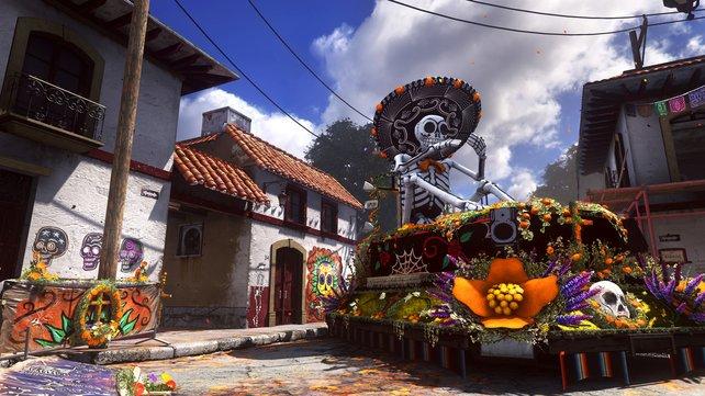 """Das kleinere Areal """"Departed"""" spielt in Mexiko während des Fests der Toten."""