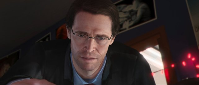 Willem Dafoe in Beyond - Two Souls.