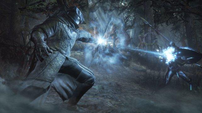 Nicht nur rohe Waffengewalt, auch mächtige Magie steht euch im Kampf zur Verfügung.
