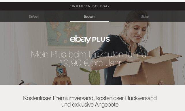 Der Plus-Service eignet sich gerade für Ebay-Profis und Ungeduldige.