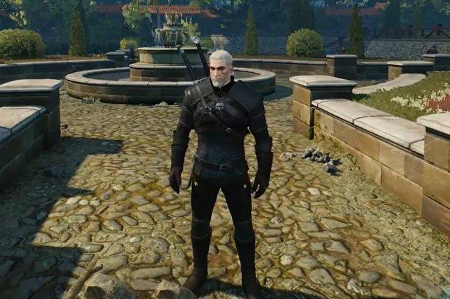 Die Vipernrüstung ist schlicht, steht Geralt aber ganz gut.